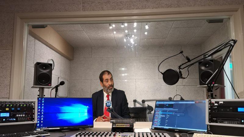 """الرفيق المصطفى براهمة على قناة """"Arif Radio programma"""""""