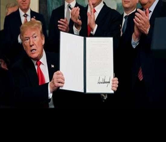 الديمقراطية تعتبر إعلان الشق السياسي من صفقة ترامب بمثابة إعلان حرب